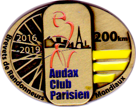 Brevet National AUDAX 200 km